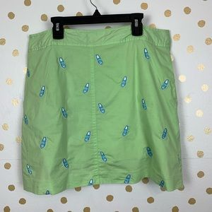 Vintage Lilly Pulitzer Embroidered Skort